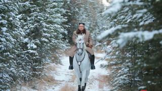 Ким Чен-ун отново яхна бял кон