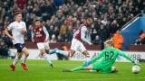 Астън Вила разби Ливърпул с 5:0 за Карабао Къп