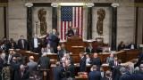 """Конгресът гласува """"за"""" импийчмънта на Тръмп"""
