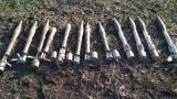 Украински граничари откриха скривалище с руско оръжие в Донбас
