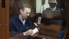 Затворен в клетка в съда, Навални се подиграва на Путин и привлича привърженици