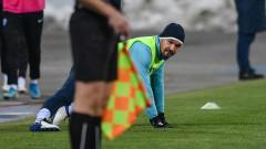 Треньорът на Левски опря до нападателните умения на Валери Божинов