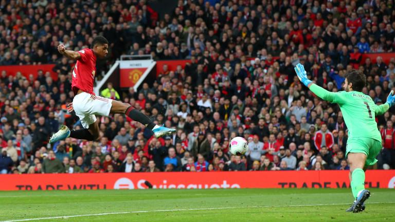 Нападателят на Манчестър Юнайтед и английския национален отбор Маркъс Рашфорд