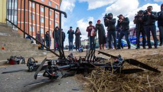 Първият руски пощальонски дрон се разби в къща
