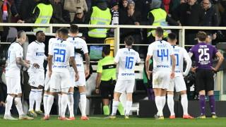 Наказаха съдията на мача Фиорентина - Интер