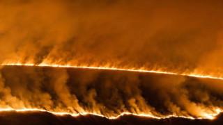 Огромен пожар изпепели над 3600 хка в Каталуния