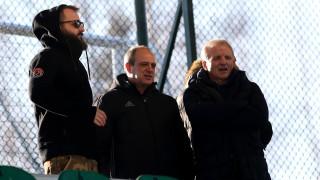 Гриша Ганчев гледа на живо контролата на ЦСКА